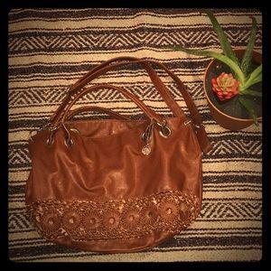 Big Buddha brown large purse / tote